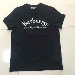 Burberry黑色短袖T恤