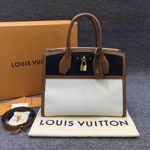 Louis Vuitton 路易·威登女士中号citysteamer单肩包