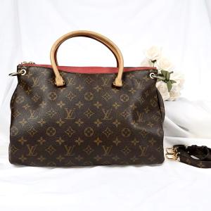 Louis Vuitton路易·威登经典传奇老花拼色手提单肩包