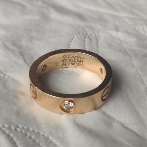 Cartier 卡地亚57号戒指
