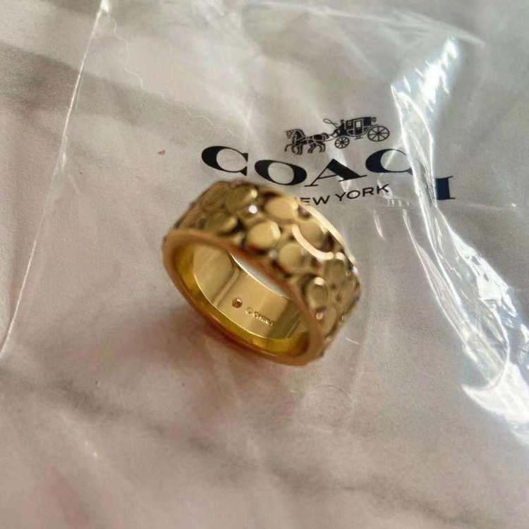 COACH蔻驰戒指/指环