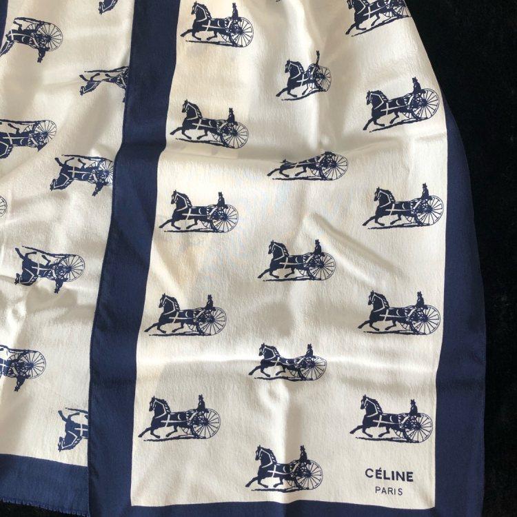 Celine赛琳女士围巾