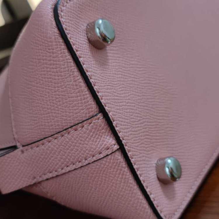 COACH蔻驰女士单肩包大号粉色
