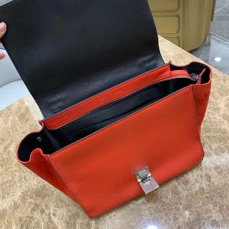 Celine赛琳女士手提包红色