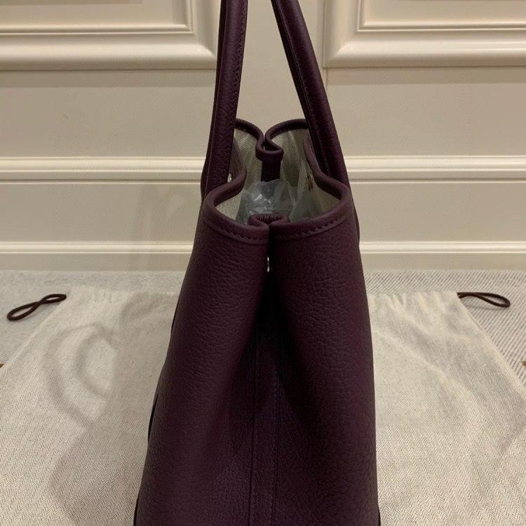 Hermès爱马仕女士手提包GP30N5葡萄紫